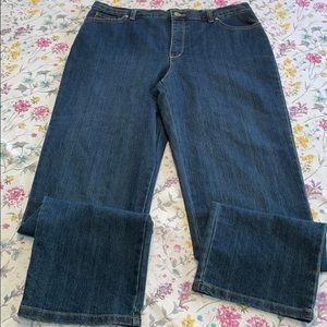 Gloria Vanderbilt Amanda jeans, like new, size 14